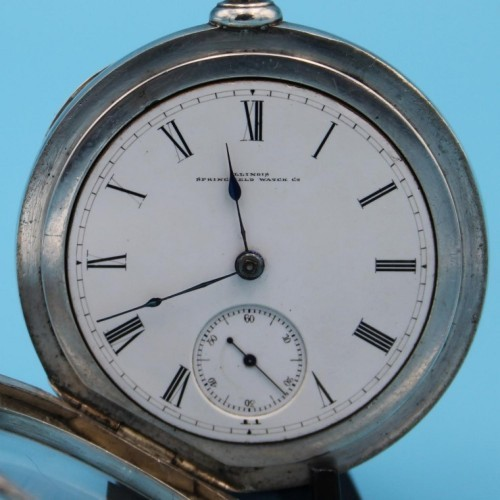 Illinois Grade Hoyt Pocket Watch Image
