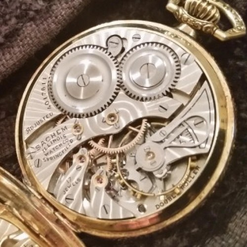 Illinois Grade 405 Pocket Watch Image