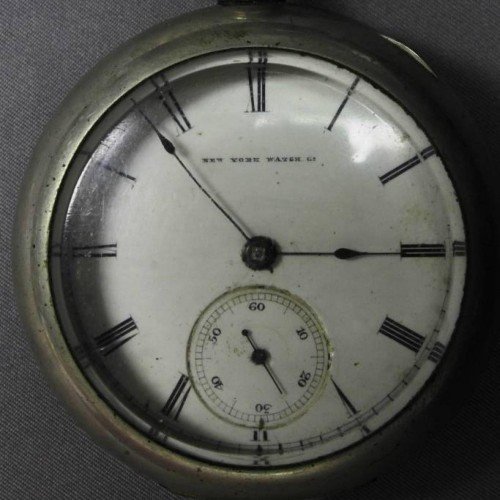 Image of New York Springfield Watch Co. J.C.Perry #52844 Dial