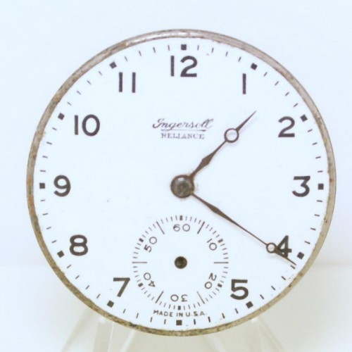 Ingersoll Watch Co. Grade Unknown Pocket Watch Image