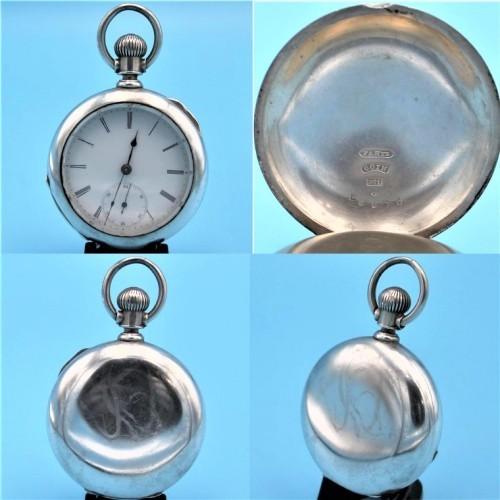International Watch Co. (Swiss) Grade Delaware Pocket Watch Image