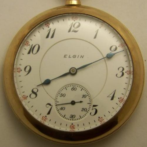Elgin Grade 162 Pocket Watch Image