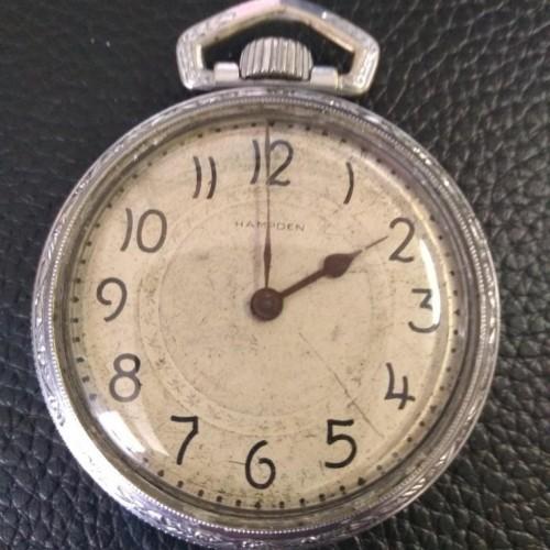 Hampden Grade No. 98 Pocket Watch Image