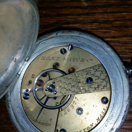 Image of Waltham Home Watch Co. #656977 Movement