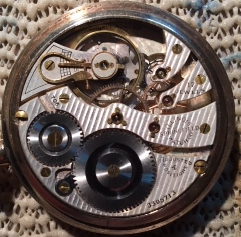 Illinois Grade 706 Pocket Watch Image