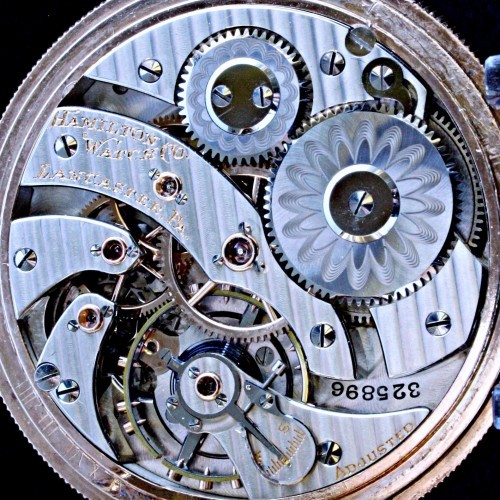 Hamilton Grade 961 Pocket Watch Image
