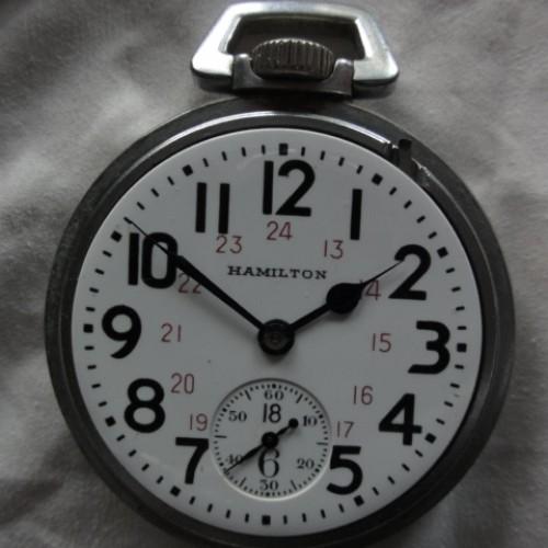 Image of Hamilton 992B #C98955 Dial