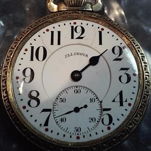 Illinois Grade 304 Pocket Watch Image