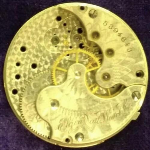 Elgin Grade 111 Pocket Watch Image