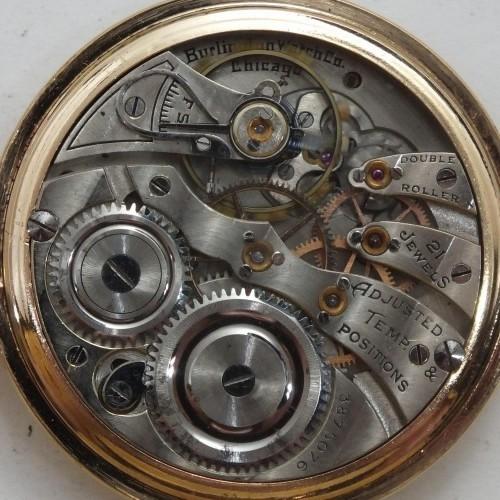 Illinois Grade 275 Pocket Watch Image