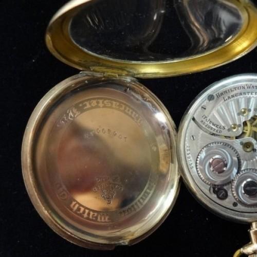 Hamilton Grade 910 Pocket Watch