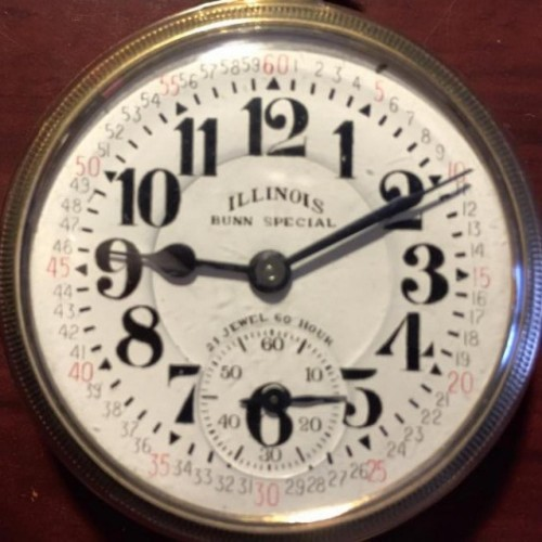 Illinois Grade 161A Pocket Watch Image