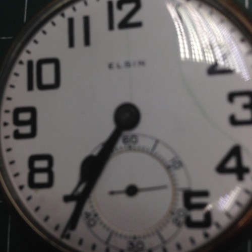 Elgin Grade 341 Pocket Watch Image