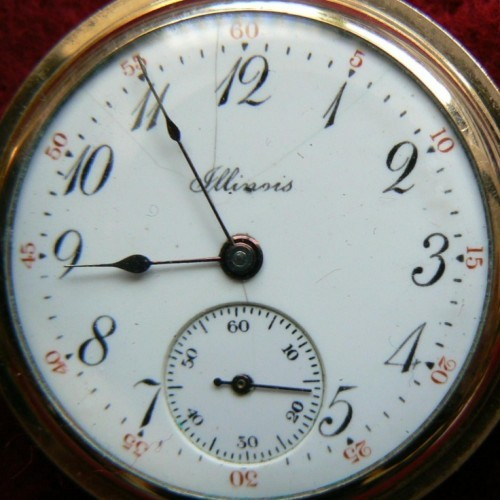 Illinois Grade 37 Pocket Watch