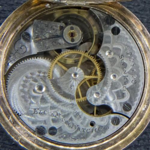 Elgin Grade 206 Pocket Watch Image
