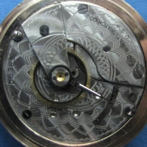 Elgin Grade 288 Pocket Watch Image