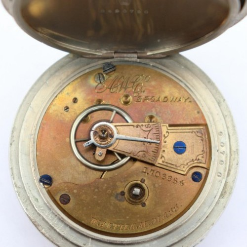Waltham Grade Broadway Pocket Watch Image