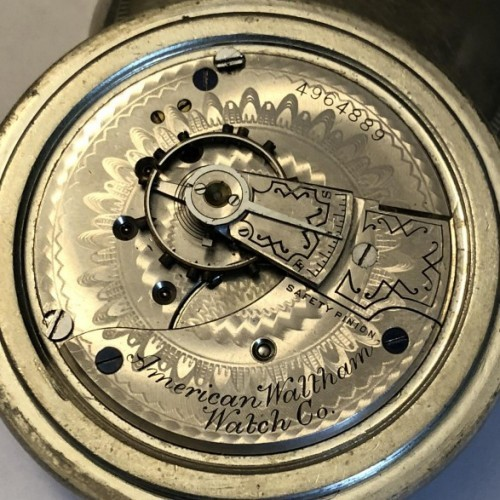 Waltham Grade No. 3 Pocket Watch Image