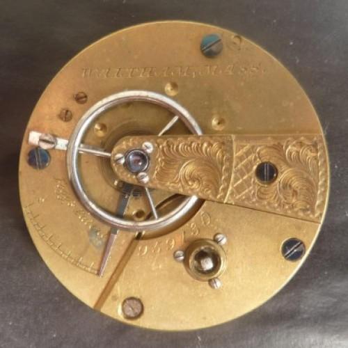 Waltham Grade Home Watch Co. Pocket Watch