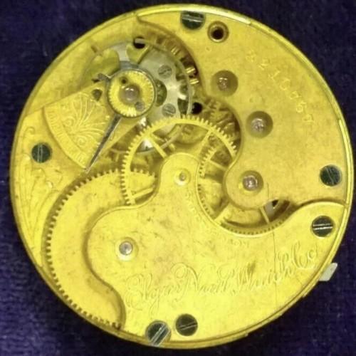 Elgin Grade 113 Pocket Watch Image