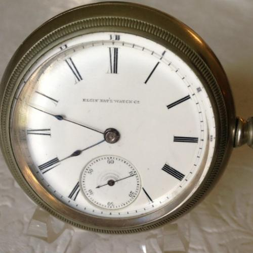 Elgin Grade 63 Pocket Watch Image