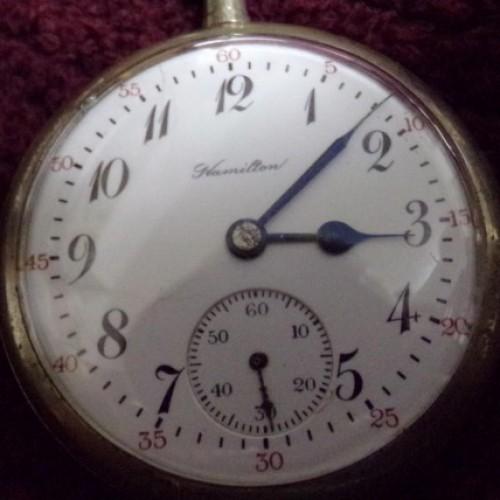 Hamilton Grade 974 Special Pocket Watch Image