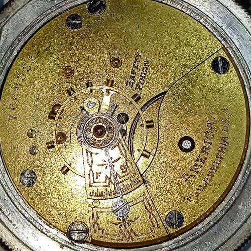 Philadelphia Watch Co. Grade  Pocket Watch Image