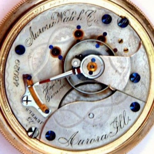 Image of Aurora Watch Co.  #48029 Movement