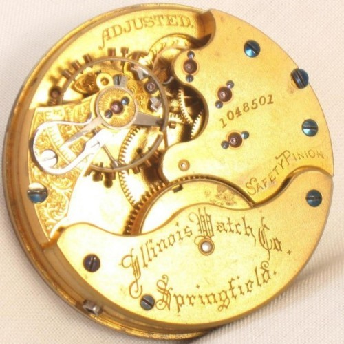 Illinois Grade 115 Pocket Watch Image