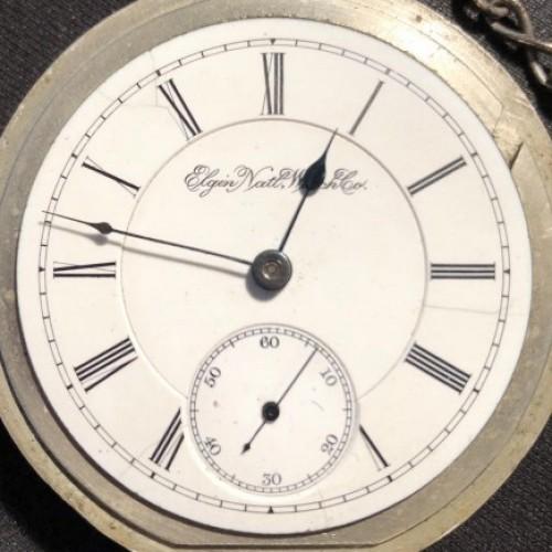 Elgin Grade 145 Pocket Watch Image