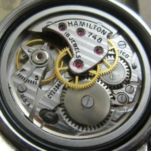 Hamilton Grade 748 Pocket Watch Image