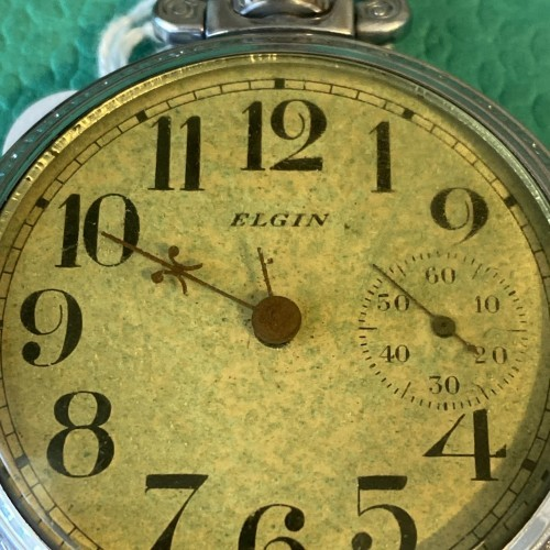 Elgin Grade 27 Pocket Watch Image