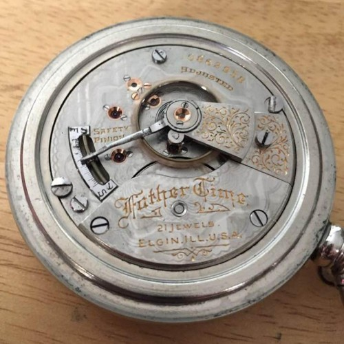 Elgin Grade 252 Pocket Watch Image