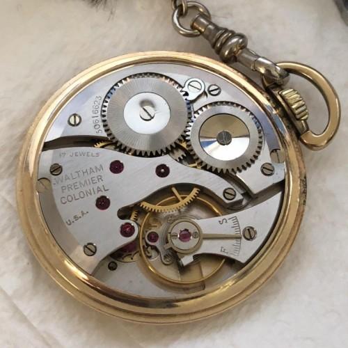 Waltham Grade No. 221 Pocket Watch Image