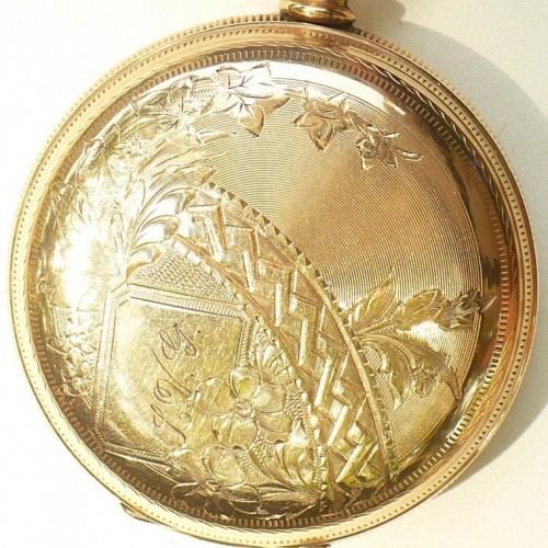 Waltham Grade E Pocket Watch Image