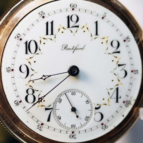 Rockford Grade 86 Pocket Watch Image