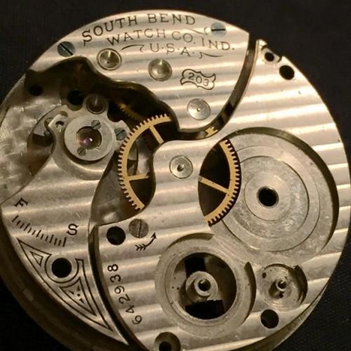 South Bend Grade 203 Pocket Watch Image