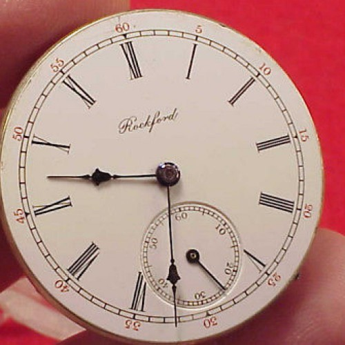 Rockford Grade 153 Pocket Watch Image