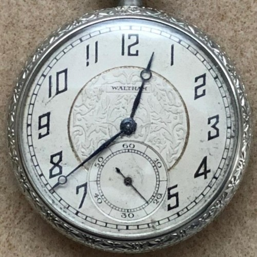 Waltham Grade No. 210 Pocket Watch