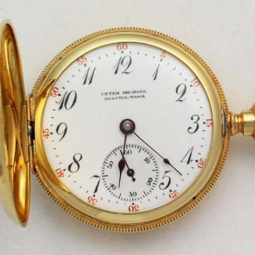 Illinois Grade 35 Pocket Watch Image