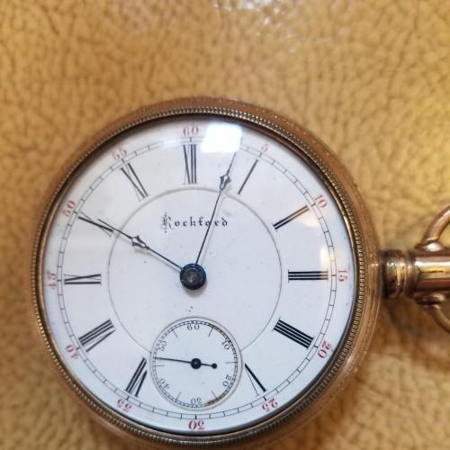 Rockford Grade 83 Pocket Watch Image