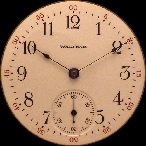 Waltham Grade No. 28 Pocket Watch