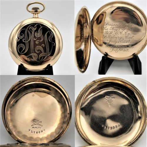 Hamilton Grade 996 Pocket Watch Image