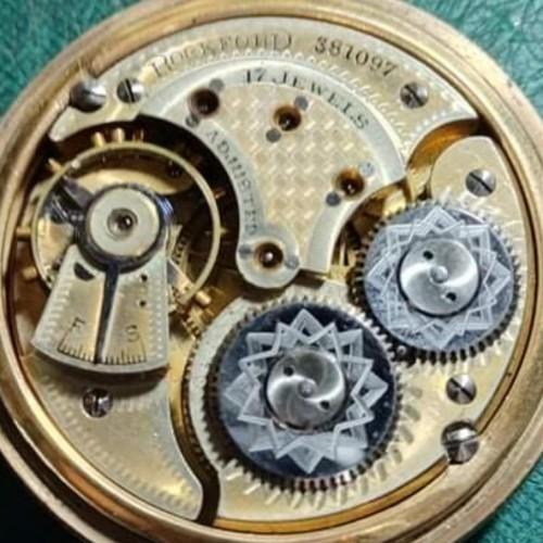 Rockford Grade 102 Pocket Watch Image