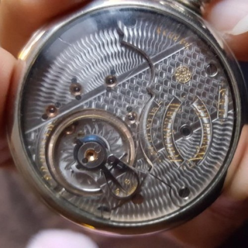 Rockford Grade 805 Pocket Watch Image