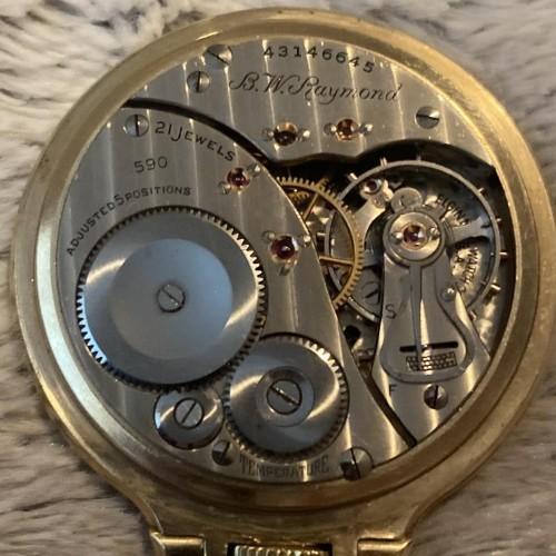 Elgin Grade 590 Pocket Watch Image