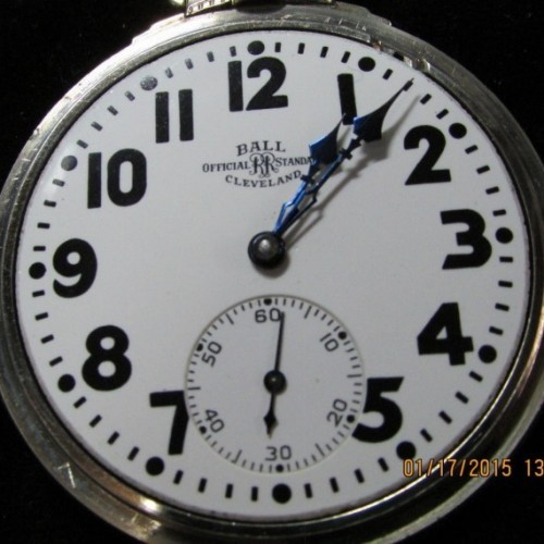 Ball - Illinois Grade 810 Pocket Watch Image