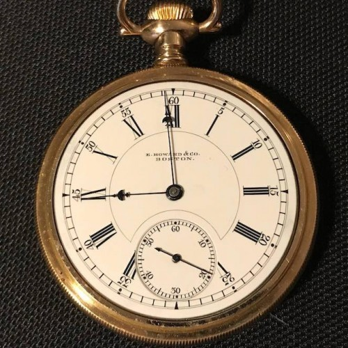 E. Howard & Co. Grade Stag Pocket Watch Image