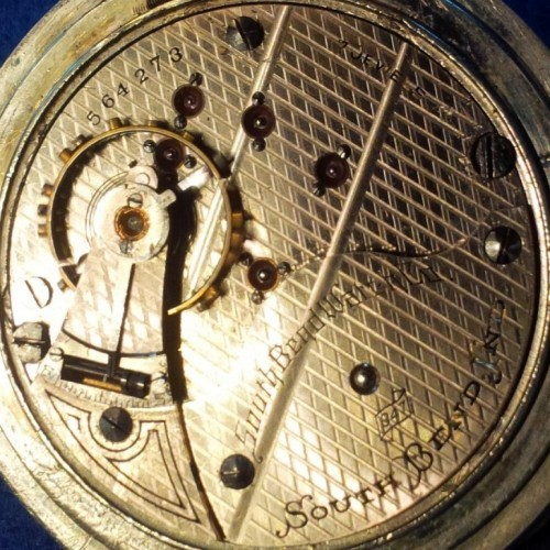 South Bend Grade 347 Pocket Watch Image