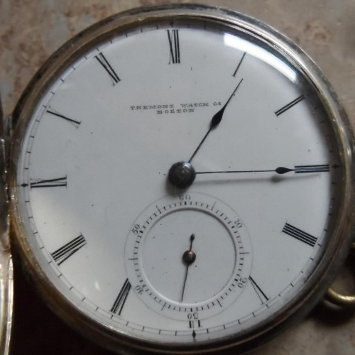 Tremont Watch Co. Grade Tremont Watch Co. Pocket Watch Image